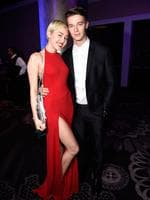 "Miley Cyrus and Patrick Schwarzenegger enjoyed each other's company for five months, steaming up the paparazzi lenses across the country. But the pair broke things off after rumours of Schwarzenegger canoodling with another arose. ""It has a lot to do with being a feminist, but I'm finally okay with being alone,"" Miley told Time magazine ... but later stated ""I am literally open to every single thing that is consenting and doesn't involve an animal and everyone is of age. Everything that's legal, I'm down with."" Picture: WireImage"