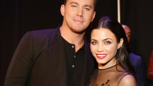 Another year ... Channing Tatum (left) and actress Jenna Dewan-Tatum, still happy after eight years together. Picture: Christopher Polk