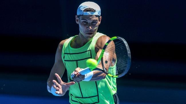 Rafael Nadal downs Dominic Thiem in surprise exhibition match
