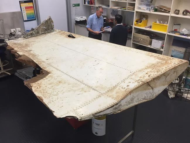 MH370 wing part's crucial clues