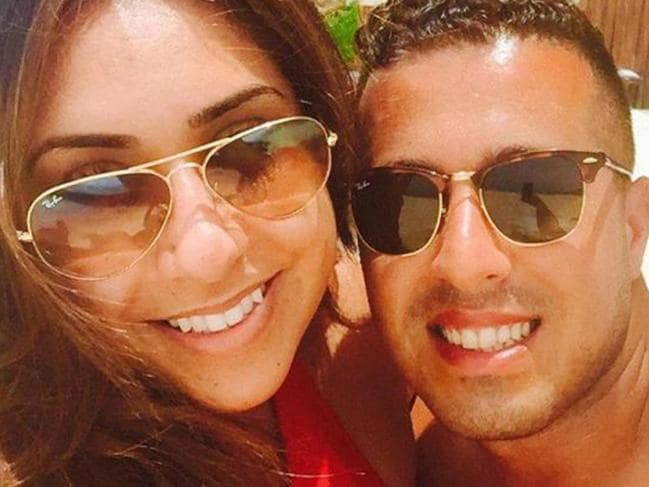 ONE TIME WEB USE ONLY - FEE APPLIES FOR REUSE -  Natasha Politakis, 29, and Ali Gul, 32, British newly-weds en route to dream Hawaii honeymoon end up spending 26 hours in Los Angeles airport detention centre before being sent home – 'because the groom is a Muslim'. Picture: SWNS/Mega