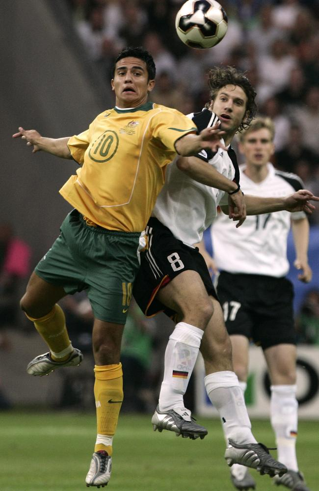 A young Tim Cahill against Germany 12 years ago
