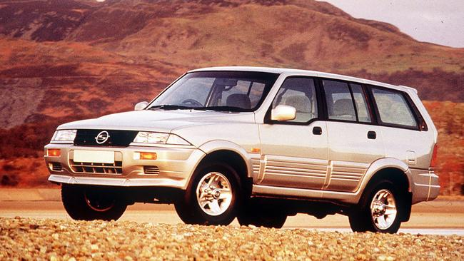 Ssangyong Musso: Masquerading as a Mercedes, said the dealer eventually
