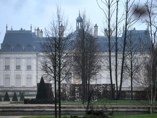 Crown Prince Mohammed bought the world's most expensive home, Chateau Louis XIV in Louveciennes, west of Paris for $390 million. Picture: AFP Photo / Stephane De Sakutin