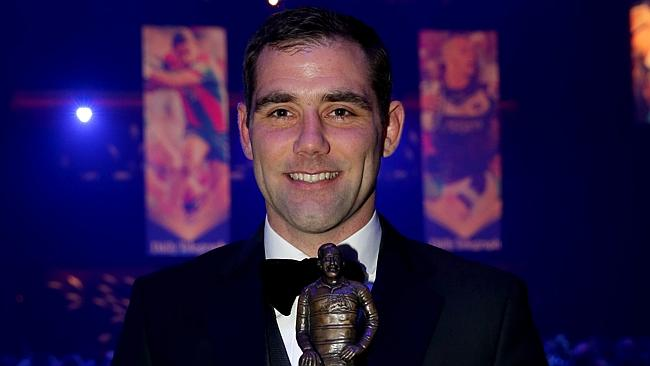 Hooker of the year Cameron Smith Dally M Awards at The Star Casino. Picture Gregg Porteous