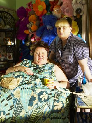 Sally-Anne Upton and Rebel Wilson in Bogan Pride.