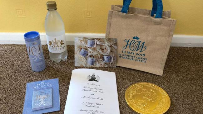 Meghan markle prince harry wedding guests selling goodie bags on goodie bags from the wedding listed for sale on ebay picture ebay sourcesupplied junglespirit Choice Image