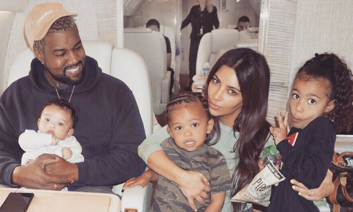 Fans hit out at Kim Kardashian's latest picture of Kanye and Chicago