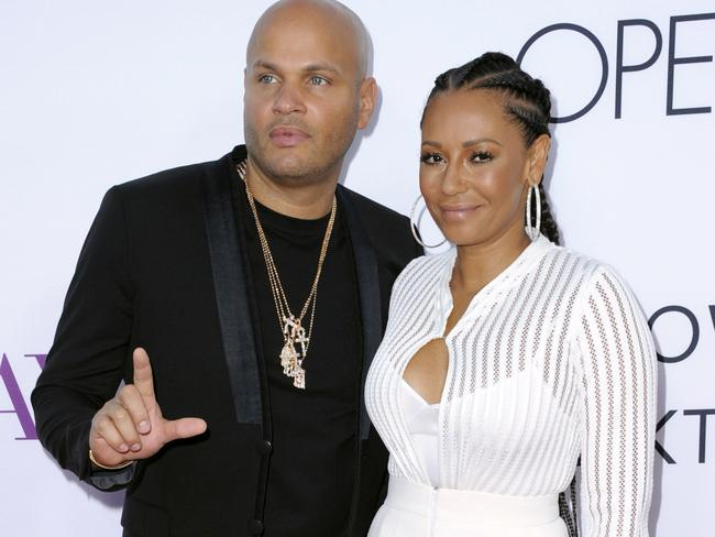 Stephen Belafonte and Mel B are splitting up just shy of their 10th wedding anniversary. Picture: Richard Shotwell/Invision/AP