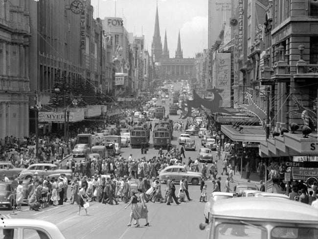 1950s Melbourne Photos Give A Revealing Insight Into