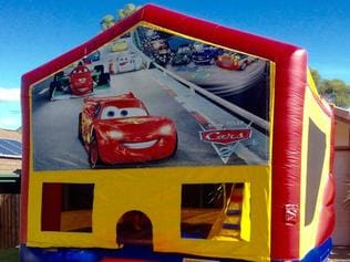 The style of bouncy castle stolen in Whyalla.