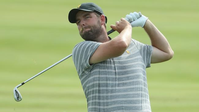 Marc Leishman is part of the International team at the Presidents Cup and is hoping to break through for just its second win in the tournament's history. Picture: Getty Images