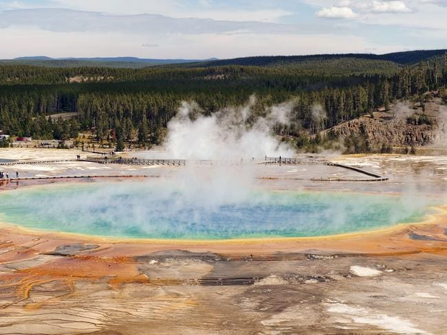 Yellowstone National Park in Wyoming may look pretty but holds a deadly secret.