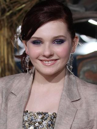 New Baby ... Abigail Breslin is set to take Jennifer Grey's role in Dirty Dancing. Picture: Supplied