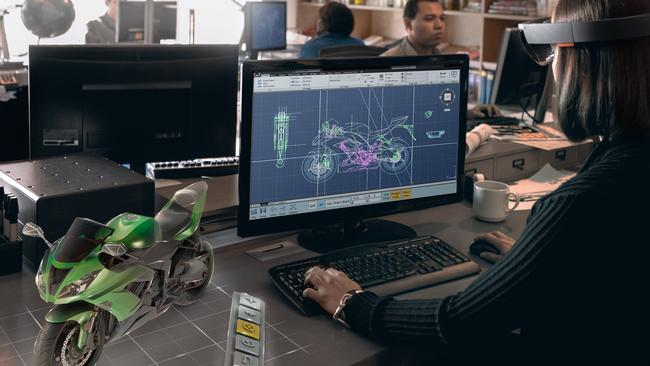 Microsoft's HoloLens ... augmented reality glasses deliver virtual 3D objects only the wearer can see.