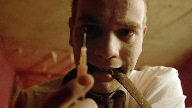 In Trainspotting, Ewan McGregor played a heroin addict.
