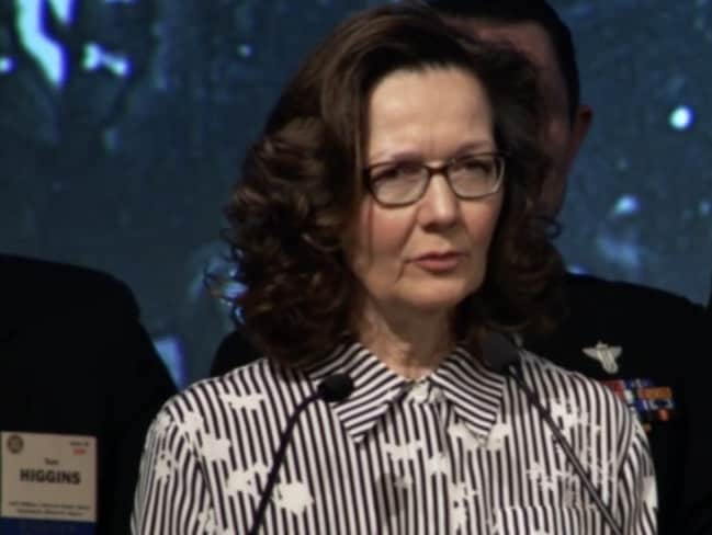 Gina Haspel will be the first woman to lead the CIA. Picture: YouTube