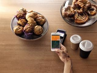 ING Direct has announced the introduction of Apple Pay where you tap your phone to pay for goods. Picture: Supplied.