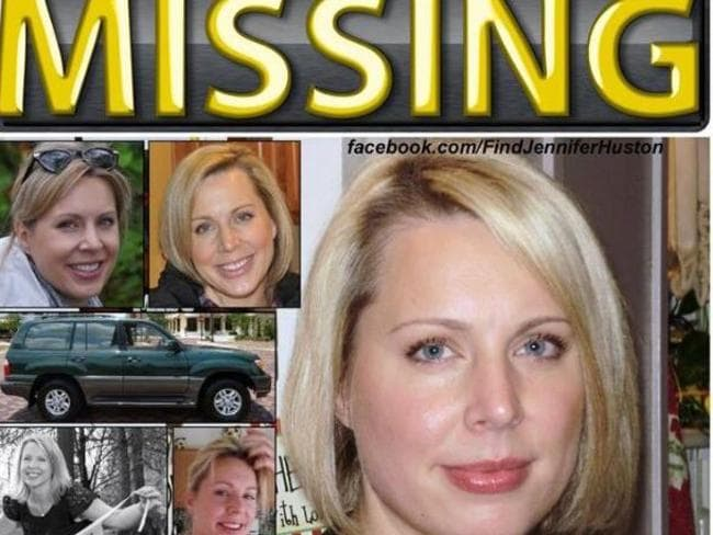 Search effort ... Jennifer Huston's family set up a Facebook page and the hashtag #FindJenniferHuston.