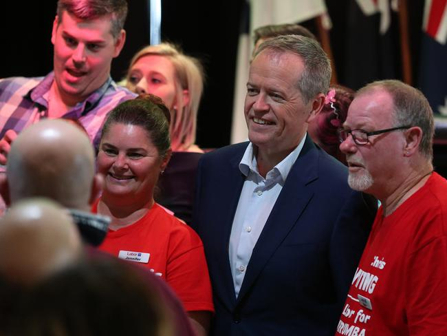 Labor leader Bill Shorten has rallied to defend penalty rates. Picture: Lyndon Mechielsen/The Australian