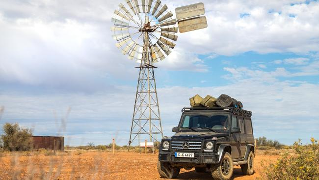 The G300 was at home in the Aussie outback. Pic: supplied.