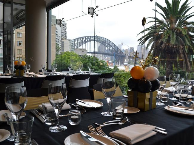 Kirribilli Club offers a great view of Sydney Harbour. Picture: Supplied