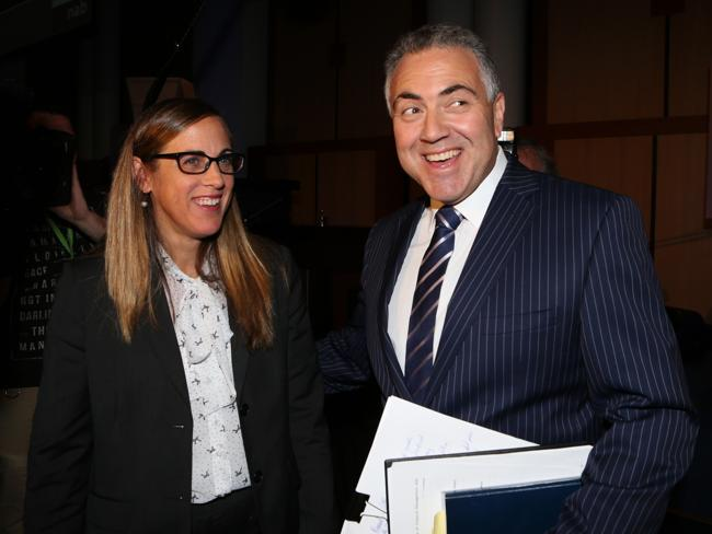 "Shadow Treasurer Joe Hockey registered his wife Melissa's 14-year-old directorship as soon as be became ""aware"". Picture Ray Strang"