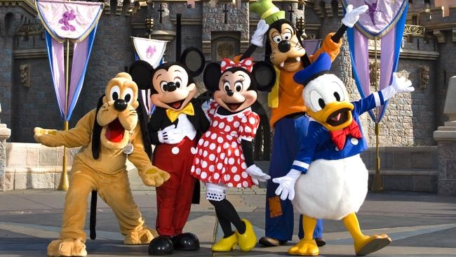 Jenny says Disneyland is the best destination for families. Picture: Supplied.