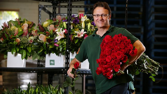 CEO of Roses Only, James Stevens / Pic: Sam Ruttyn