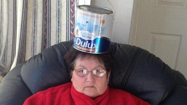 #thingsonmynan twitter: Dulux white paint, May 2.