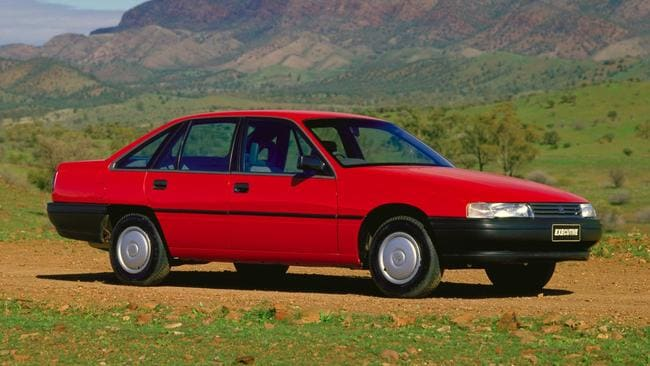 The Holden Commodore grew with the VN series to compete with the Ford Falcon. Picture: Supplied