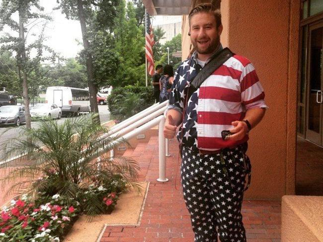 Murdered DNC staffer Seth Rich.