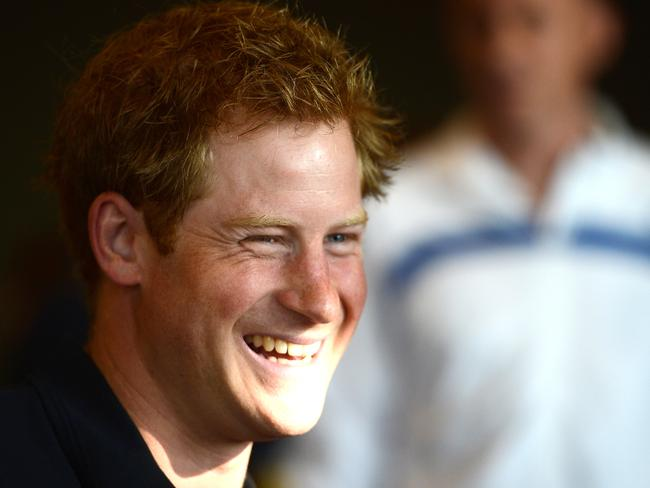 Proud uncle ... Prince Harry reckons Prince George will love being a big brother. Picture: Getty