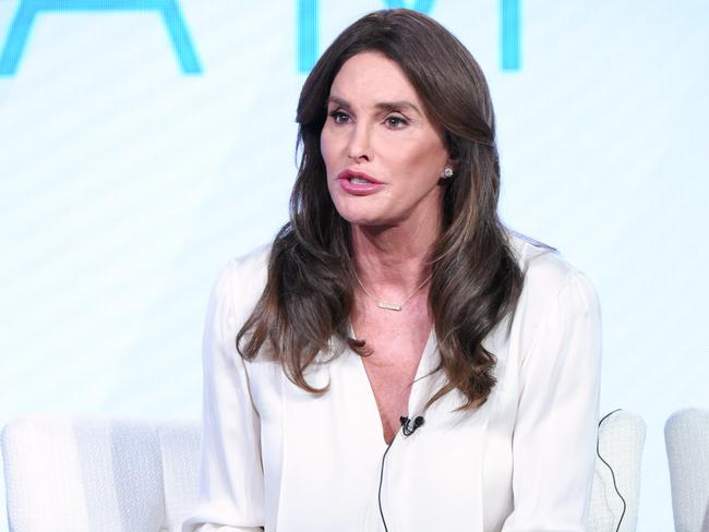 "Speaking up ... Caitlyn Jenner participates in E!'s ""I Am Cait"" panel. Picture: AP"