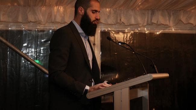 Houli attended the PM's Iftar dinner. Picture: Andrew Meares/Fairfax Media