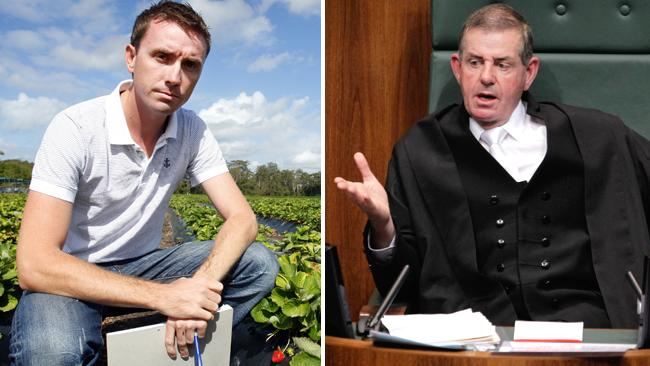 Peter Slipper and James Ashby