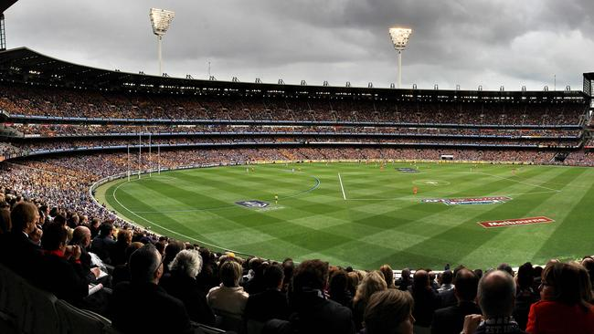 In August every footy supporter dreams of their team being here. 2013 AFL Grand Final at the MCG. Picture by Chris Scott
