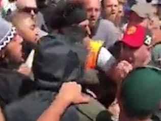 A fight broke out at Preston Mosque after the Sheik was banned