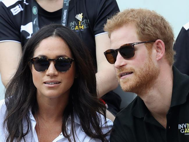 Speculation about Prince Harry and Meghan Markle's engagement is rife after their first public appearance. Picture: Chris Jackson/Getty Images for the Invictus Games Foundation