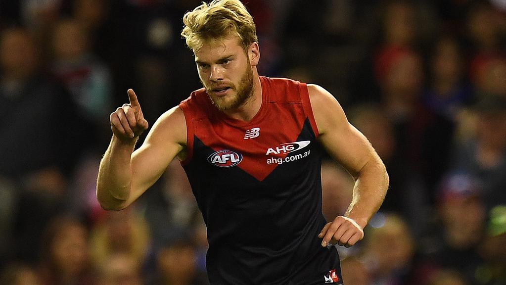 Jack Watts wants to stay at Melbourne despite being put on the trade table.