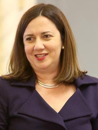 Annastacia Palaszczuk has received a poll boost