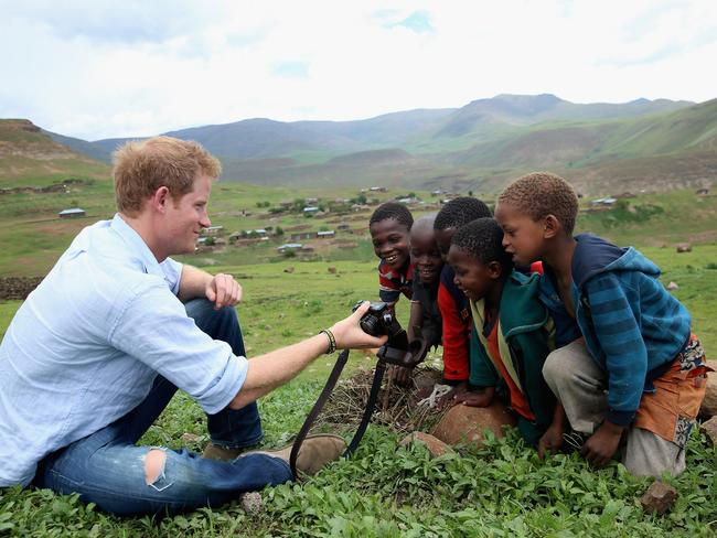 Prince Harry and Meghan share a mutual love of Africa. Picture: Chris Jackson/WPA Pool/Getty Images