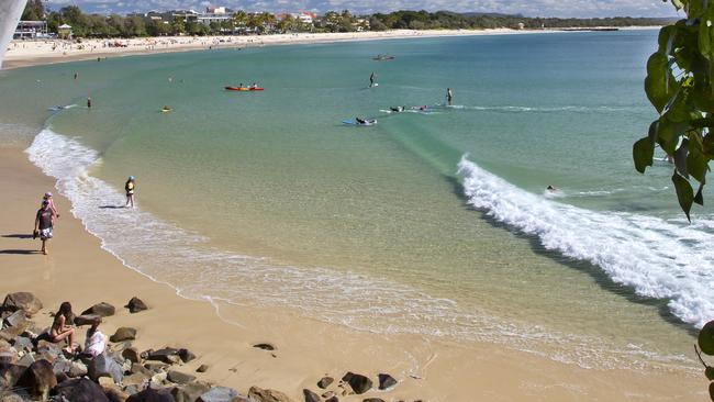 2. Main Beach at Noosa — scored the second biggest number of bookings for Australia Day. Picture: Noosa Tourism.