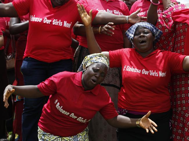 A nation's grief ... Women attend a prayer meeting calling on the government to rescue the kidnapped girls of the government secondary school in Chibok, in Abuja, Nigeria.