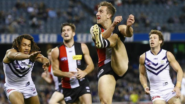 Luke Dunstan did his Rising Star chances no harm with a great performance. Picture: Michael Klein