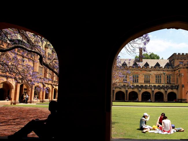 English sydney college of the arts courses
