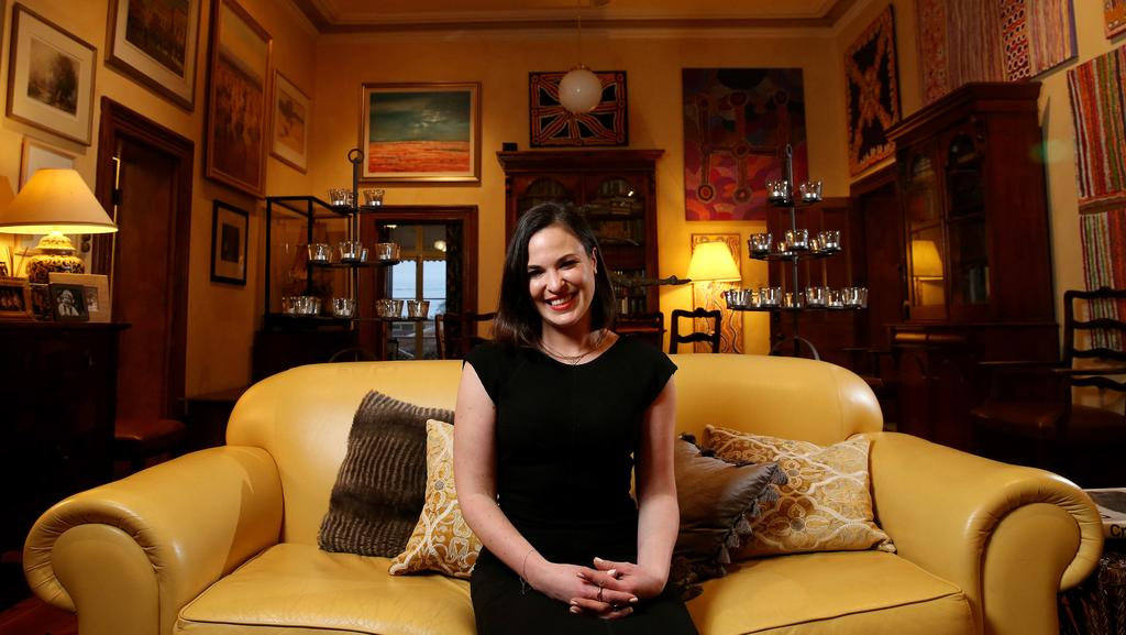 Interior Designer Claire Kneebone At Her Childhood Home In Torrens Park Picture Calum Robertson