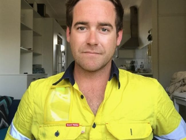 The Sydney Water employee descended into depression after a panic attack at work, and said deciding to kill himself felt like a relief.