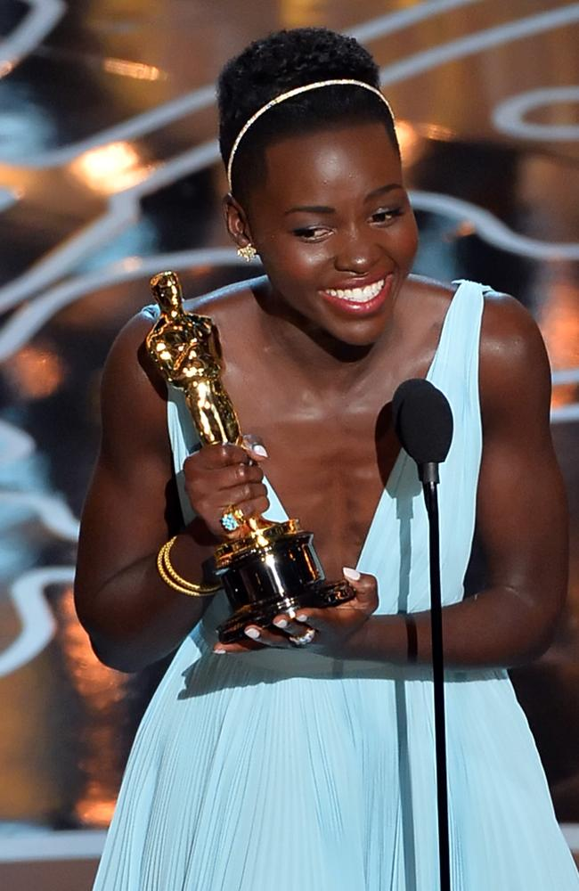 Lupita Nyong'o won an Oscar in 2014 for her stunning performance in the film,  <i>12 Years A Slave</i>. Picture: AFP/Getty Images/Kevin Winter
