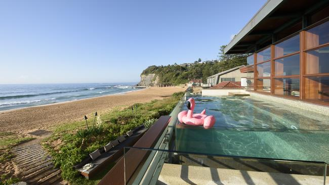 The second storey pool Bilgola. Supplied by Foxtel